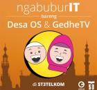 blogger banyumas ngabuburit desa os dan gedhe tv di st3 telkom