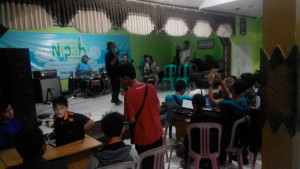 keroncong dan kelas Blogger Banyumas Festival Nipah