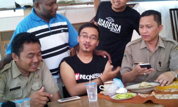 blogger banyumas persiapan destika jayapura papua