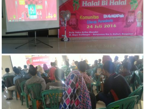 Halal bi Halal Komunitas Blogger Banyumas BukaLapak