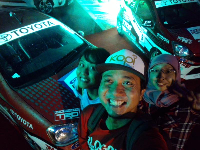 toyota team indonesia dan komunitas blogger banyumas
