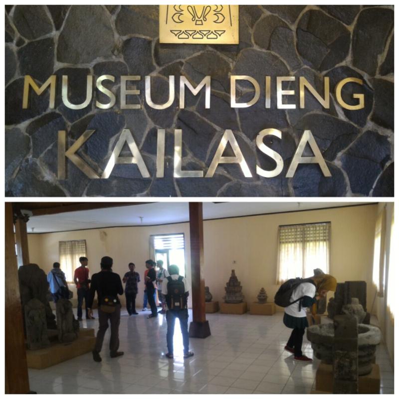 blogger banyumas di museum kailasa dieng banjarnegara