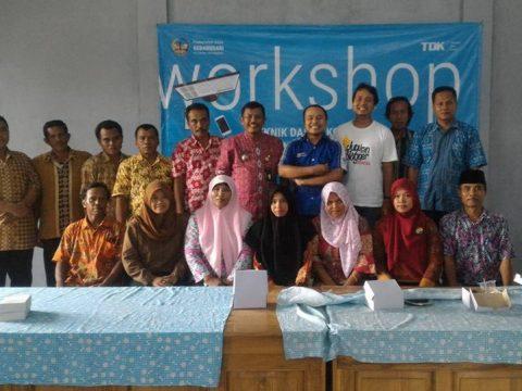komunitas blogger banyumas pelatihan di desa gebangsari