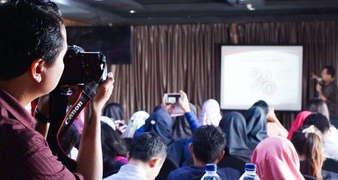 sosialisasi asian games 2018 bersama netizen