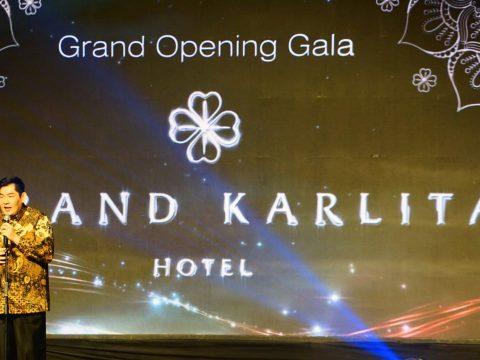 grand opening hotel grand karlita purwokerto