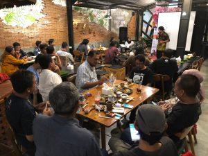 komunitas blogger banyumas di acara pandu digital madiun