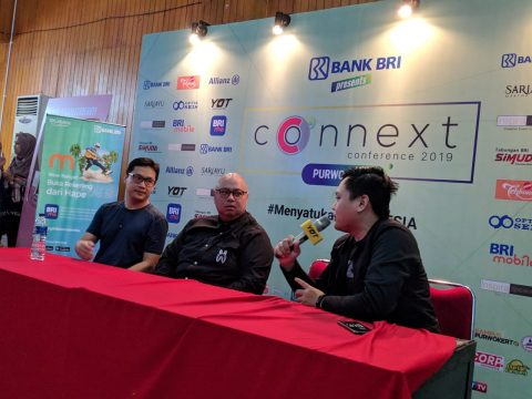 blogger banyumas di Connext Conference Purwokerto