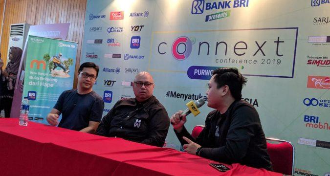 blogger banyumas di Connext Conference Purwokerto