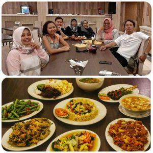 blogger banyumas makan malam di resto hotel karlita tegal