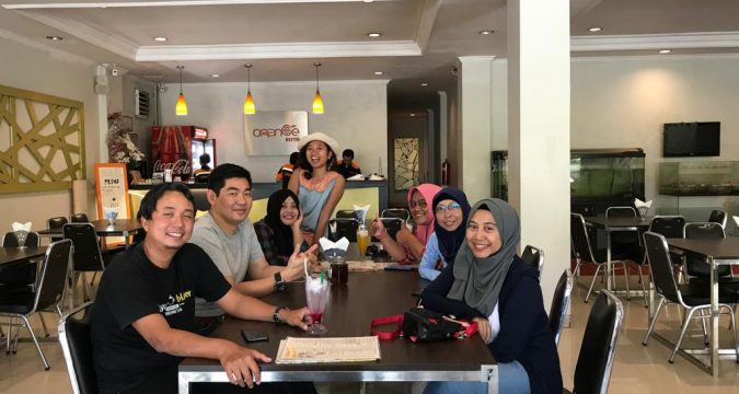 blogger banyumas di hotel karlita international tegal