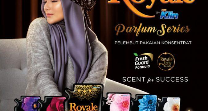 pakaian beraroma parfum dengan royale soklin